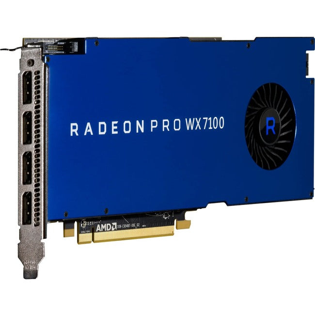 AMD Radeon Pro WX 7100 Graphic Card - 8 GB GDDR5 - Full-height (100-505826)