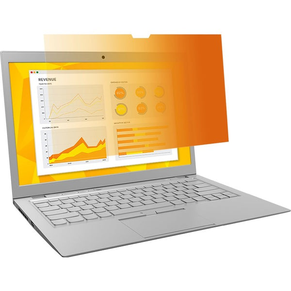 "3M™ Gold Privacy Filter for 14.1"" Widescreen Laptop (16:10) (GF141W1B)"