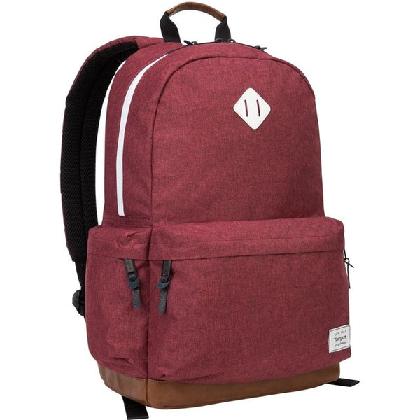 "Targus Strata TSB93603GL Carrying Case (Backpack) for 15.6"" Notebook - Burgundy (TSB93603GL)"