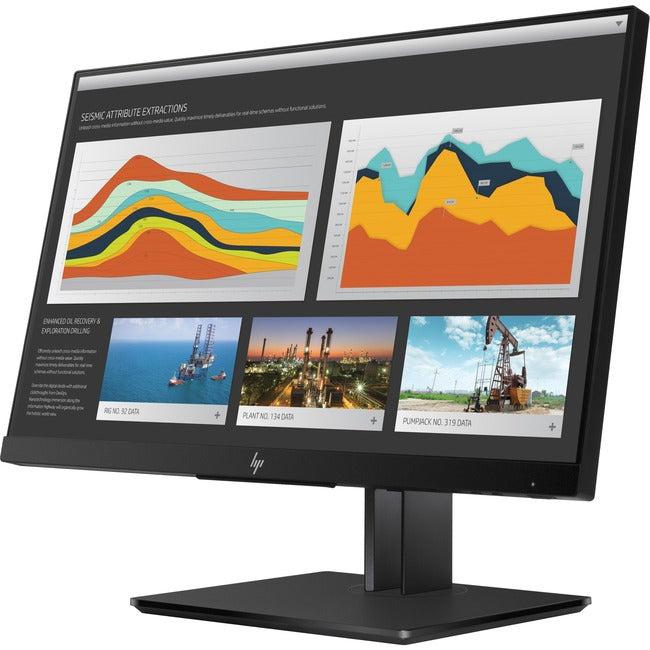 "HP Business Z22n G2 21.5"" WUXGA LED LCD Monitor - 16:9 - Space Silver, Black Pearl (1JS05A8"