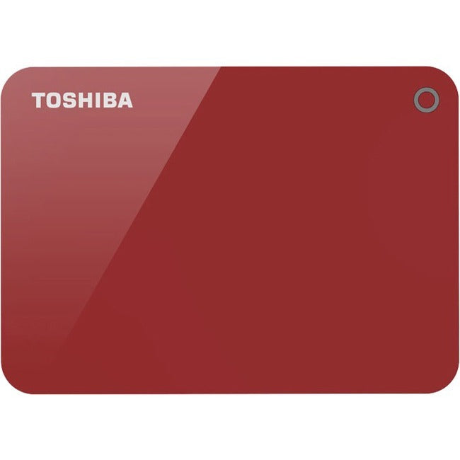 1Tb Canvio Advance Red,2.5In,Usb 3.0 / 2.0,2 Years Limited Warranty