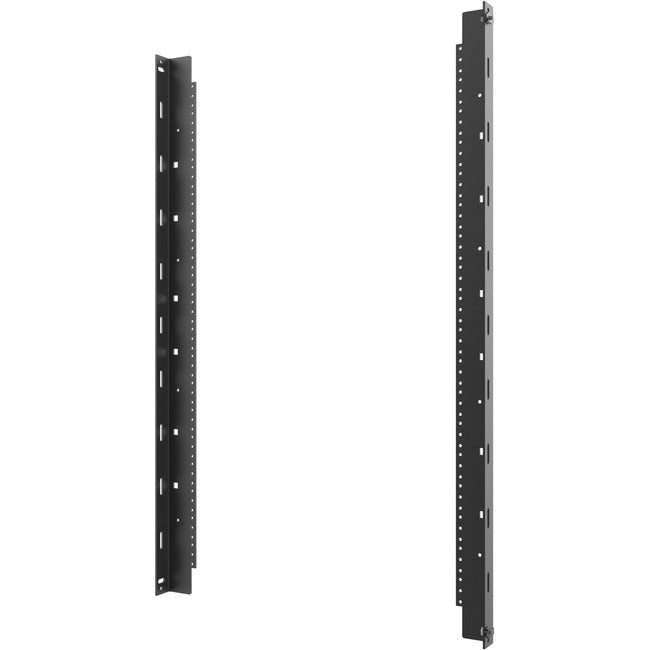 On-Q/Legrand SWMRK26RU Mounting Rail Kit for Cabinet - Black - TAA Compliant (SWMRK26RU)