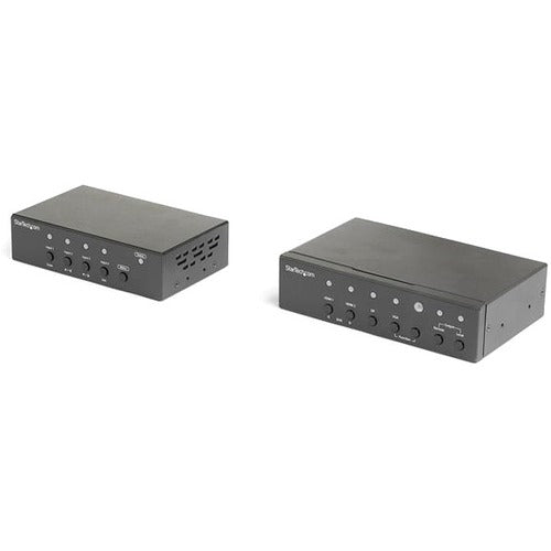 StarTech.com Multi-Input HDBaseT Extender Kit with Built-In Switch and Video Scaler - DisplayPort HDMI and VGA Over (ST121HDBTSC)