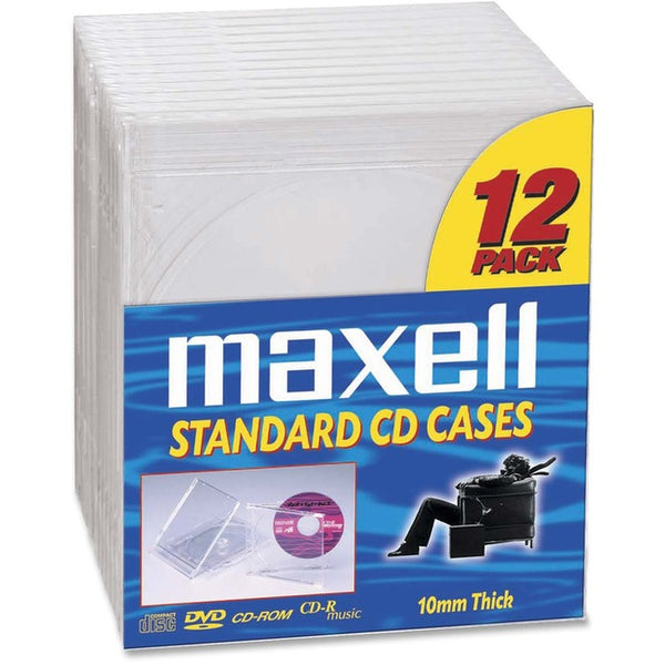 Maxell Maxell Cd Jewel Cases  (190069OD)