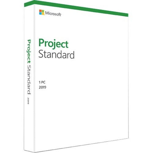 Microsoft Project 2019 Standard for Windows 10 - Box Pack - 1 PC - Medialess (076-05795)