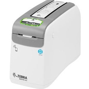 Zebra ZD510-HC Direct Thermal Printer - Monochrome - Portable - Wristband Print (ZD51013-D01E00FZ)