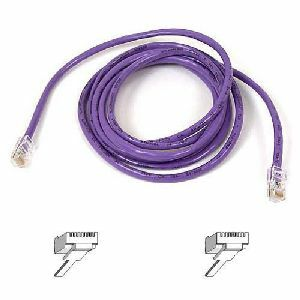 Belkin Cat5e Patch Cable (A3L791-03-PUR)