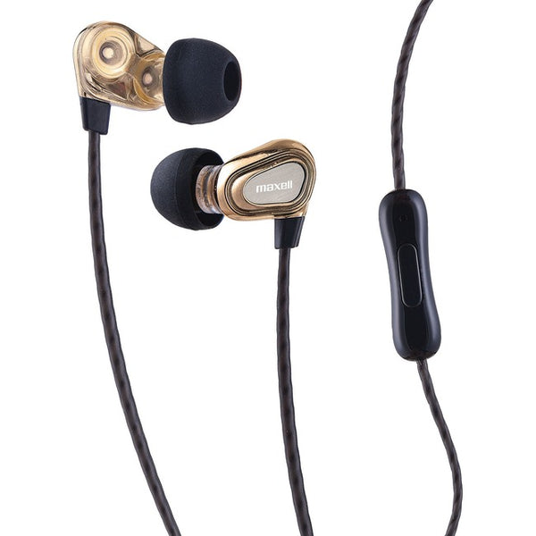 Maxell Dual Driver Earbuds (199771)