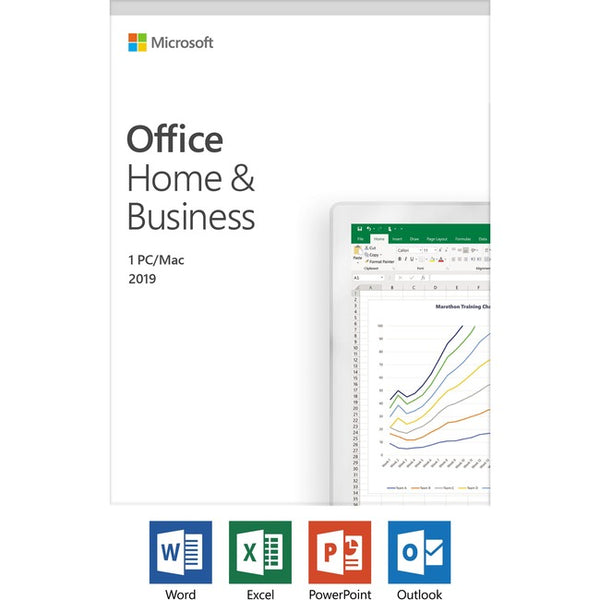Microsoft Office 2019 Home & Business - License - 1 PC/Mac, 1 Device (T5D-03190)