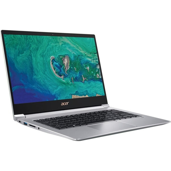 "Acer Swift 3 SF314-55-58P9 14"" Notebook - 1920 x 1080 - Core i5 i5-8265U - 8 GB RAM - 256 GB SSD - Silver (NX.H3WAA.003)"