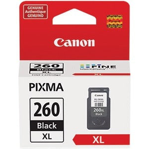 Canon PG-260 XL Ink Cartridge - Black (3706C001)