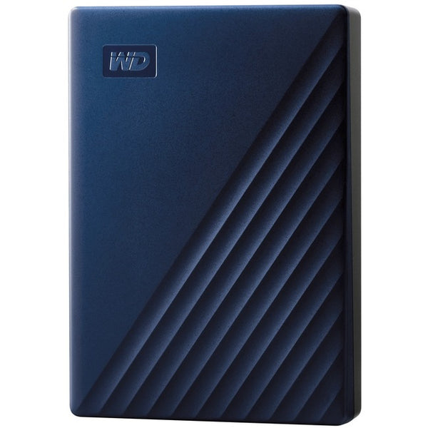 Western Digital - Storage Solutions Wd My Passport For Mac 5Tb Usb 3.0 Wdba2f0050bbl-Wesn Blue (WDBA2F0050BBL-WESN)