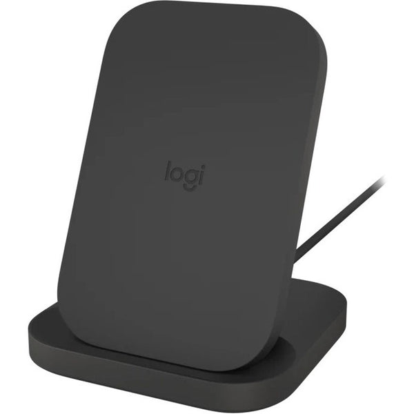 Logitech - Computer Accessories Logitech Powered Stand Graphite Charge Stand For Qi-Enable Devices (950-000042)
