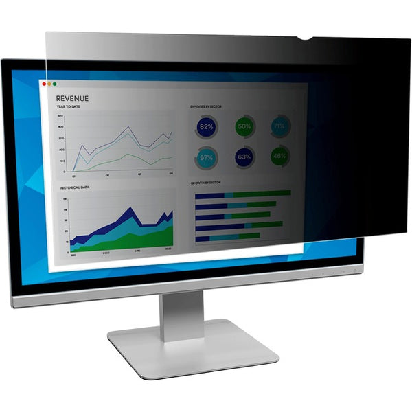 3M - Optical Systems Division Privacy Filter For 21.5In 16:9 Full Screen Monitor (PF215W9E)