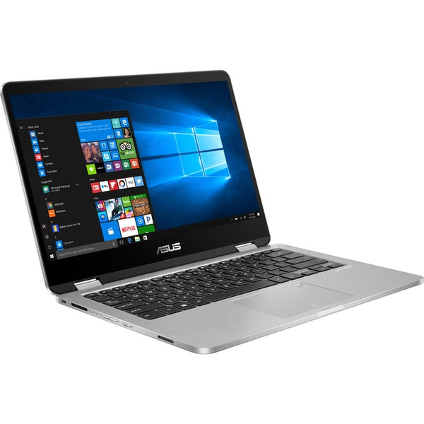 Asus - Notebooks Vivobook Flip N4020 1.1G 4Gb 64Gb 14In Ts W10h In S Mode (J401MA-DB02)