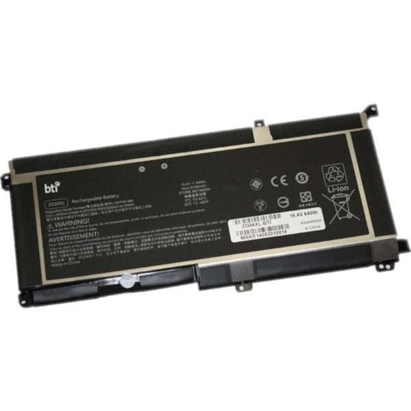 Battery Technology Inc. Bti Zg04xl L07046-855 64Wh Batt Hp Zbook Studio G5 Elitebook 1050G1 (ZG04XL-BTI)