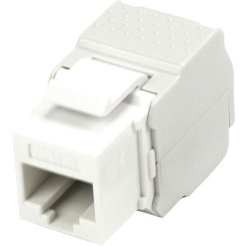 StarTech.com Cat 6 Keystone Jack white - Tool-less Type Cat. 6 Keystone Jack - Network Connector - RJ-45 (C6KEY2WH)