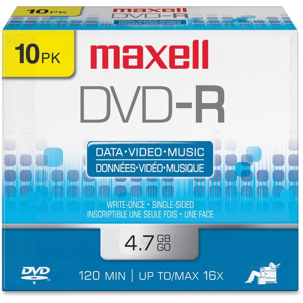 Maxell 16x DVD-R Media (638004)