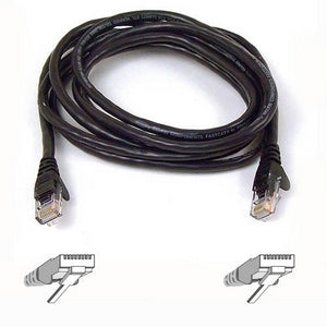 Belkin FastCAT 5e Patch Cable (A3L850-10-BLK-S)
