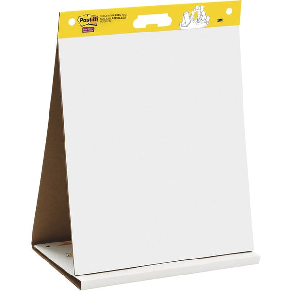 "Post-it® Tabletop Easel Pad, 20"" x 23"", White (563R)"