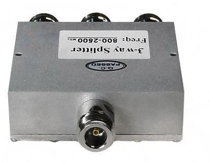 Premiertek 800-2500Mhz 3Way Signal Power Splitter Nfemale (PS-082503)