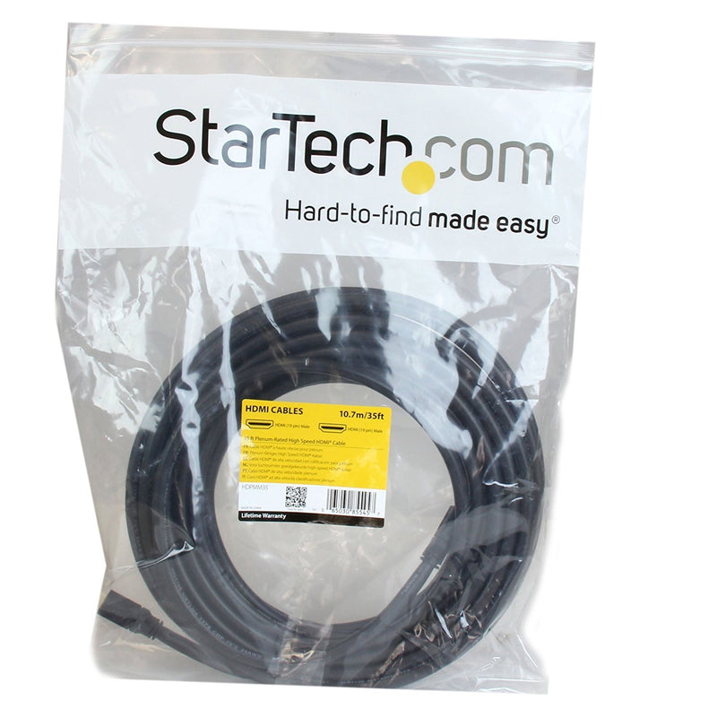 StarTech.com 25 ft 7m Plenum-Rated High Speed HDMI Cable - Ultra HD 4k x 2k HDMI Cable - HDMI to HDMI M/M (HDPMM25)