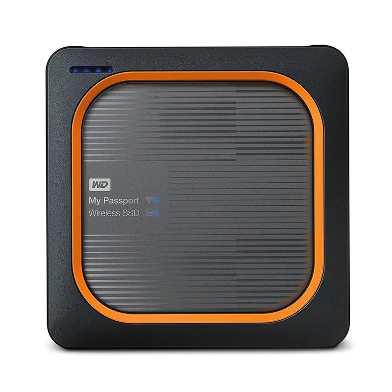 WD My Passport Wireless WDBAMJ0010BGY-NESN 1 TB Portable Network Solid State Drive - External (WDBAMJ0010BGY-NESN)