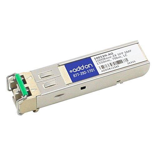 AddOn Extreme Networks 10053H Compatible 1000Base-ZX SFP Transceiver (SMF, 1550nm, 70km, LC, Rugged) 10053H-AO
