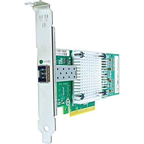 Axiom 10GBS Single Port SFP+ PCIE X8 NIC for QLOGIC W/TRANSCEIVER QLE3240-LR-CK