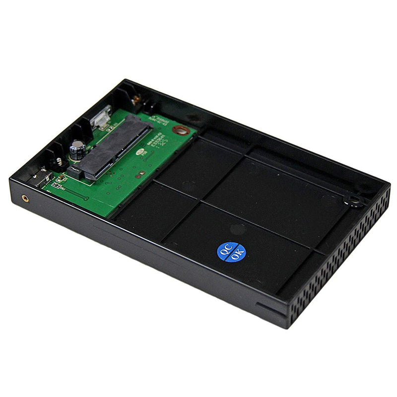 "StarTech.com 2.5"" IDE Hard Drive Enclosure - Supports UASP - Aluminum - IDE and SATA - USB 3.0 HDD Enclosure - External (UNI251BMU33)"