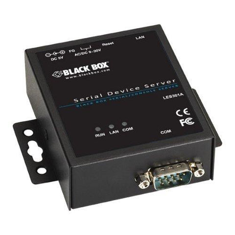 1-Port 10/100 Device Server, RS-232/422/485, DB9 M