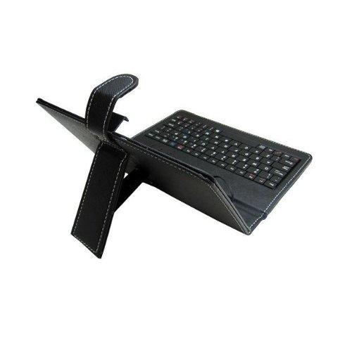 Worryfree Gadgets 7Inch Black Micro Usb Keyboard Light Weight-Easy To Carry (BLKKEY-7)