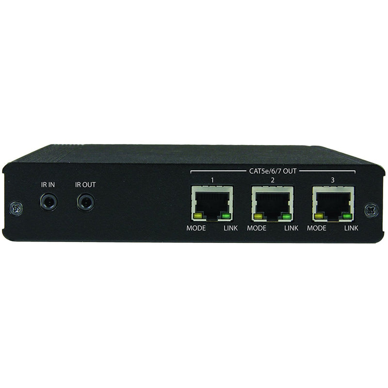 StarTech.com 3 Port HDBaseT Extender Kit with 3 Receivers - 1x3 HDMI over CAT5 Splitter - 1-to-3 HDBaseT Distribution (ST124HDBT)