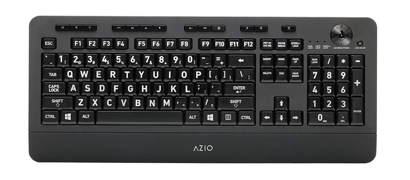 Azio Kb506 Vision Large-Print Keyboard