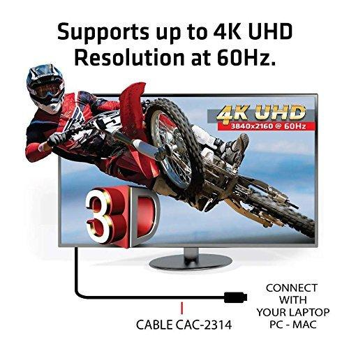Club 3D HDMI 2.0 4K60Hz UHD RedMere Cable 15 m/49.21ft Male/Male (CAC-2314)