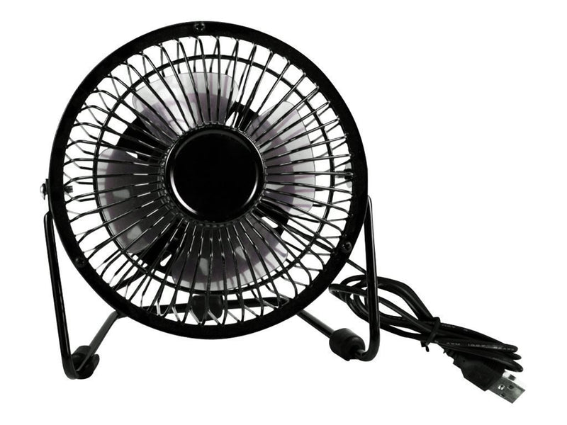 Qvs Portable Usb Powered Mini Desk Fan (FAN-U1)