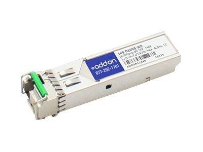 AddOn Calix 100-01603 Compatible TAA Compliant 1000Base-BX SFP Transceiver (SMF, 1310nmTx/1490nmRx, 40km, LC)