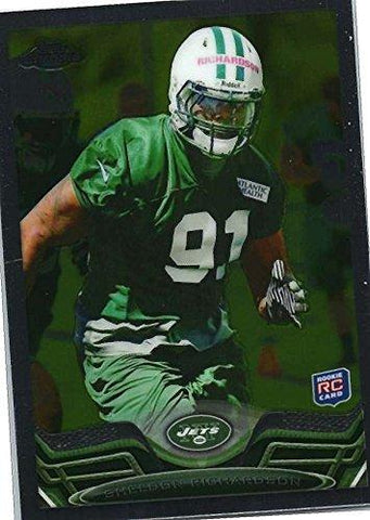 2013 Topps Chrome #202 Sheldon Richardson RC
