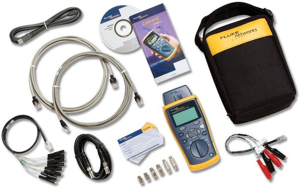 Fluke Networks Core Copper + Fiber Tech Kit Ciq-Kit + Ftk1000 (CIQ-FTKSFP)