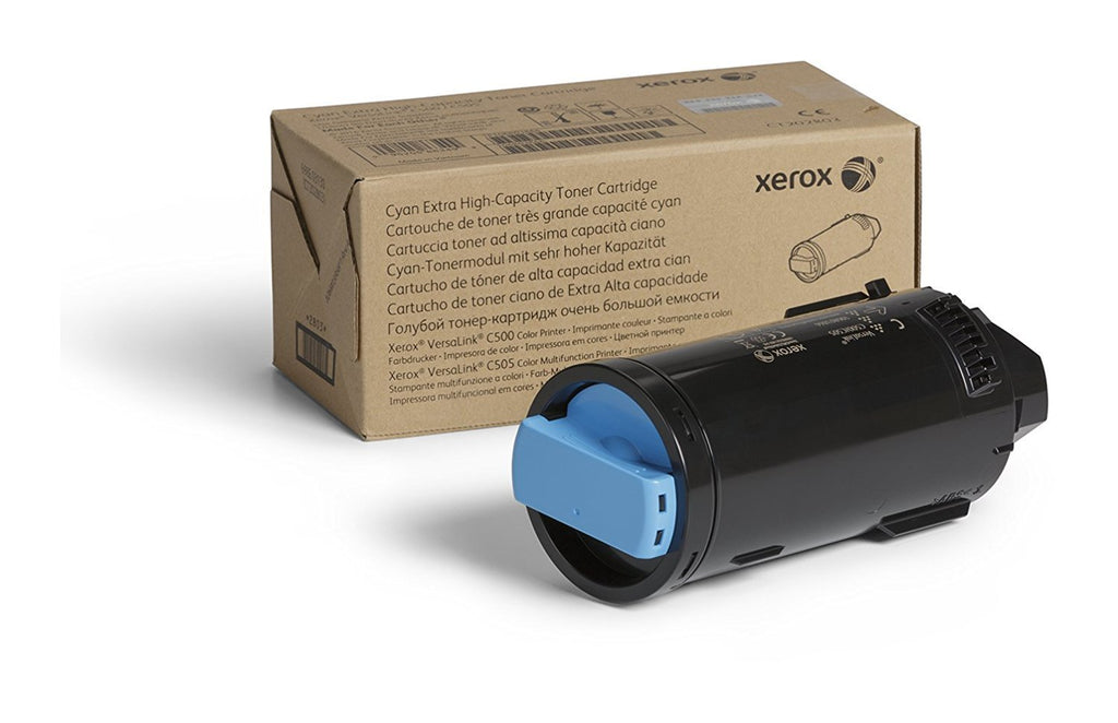 Xerox Extra High Capacity Toner Cartridge - Cyan - 106R03866 (9,000 pages for use in VersaLink C500/C505)