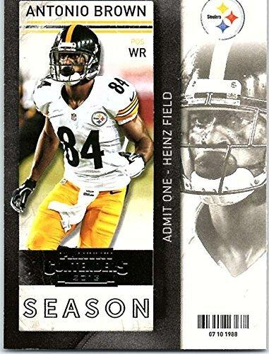 2013 Panini Contenders Common Season Tickets #90 Antonio Brown