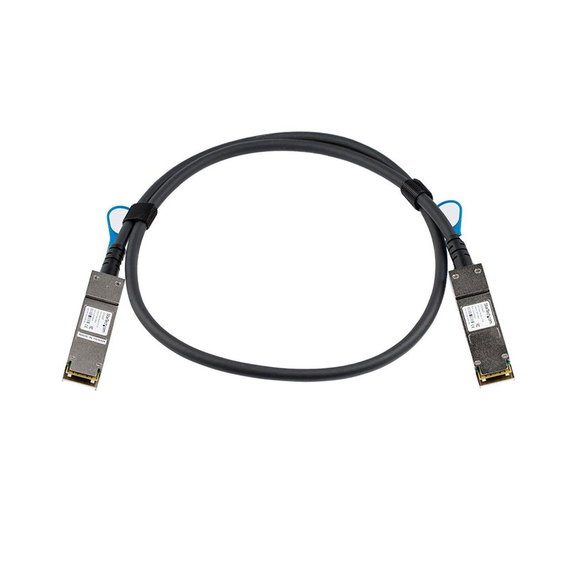 StarTech.com HP JG326A Compatible QSFP+ Direct-Attach Twinax Cable - 1 m (3.3 ft.) - 40 Gbps - Passive DAC Copper Cable (JG326AST)