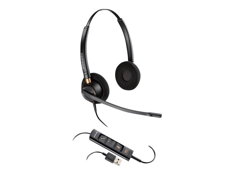 Plantronics Corded Headset with USB Connection (203444-01)