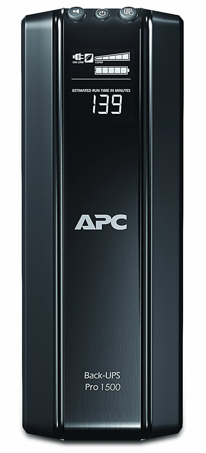 APC by Schneider Electric Back-UPS RS BR1500GI 1500VA Tower UPS (BR1500GI)