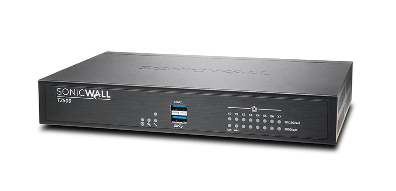 SONICWALL - HARDWARE SonicWall TZ500 Network Security/Firewall Appliance (01-SSC-0445)