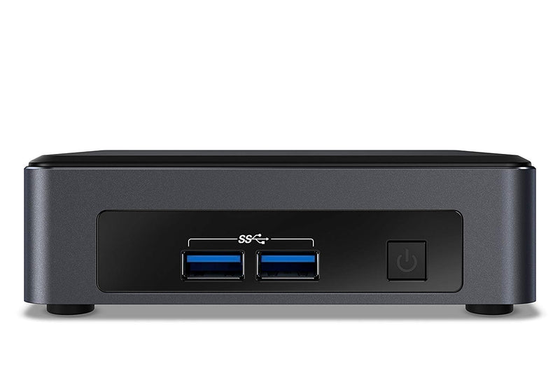 Intel NUC 7 Business NUC7i3DNKTC Desktop Computer - Core i3 i3-7100U - 4 GB RAM - 128 GB SSD - Mini PC (BLKNUC7I3DNKTC1)