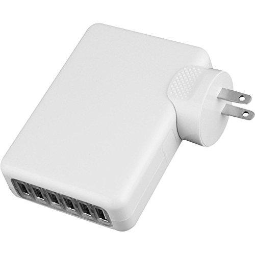 4Xem 6Port 4A 4Amp Wall Charger For Apple Iphone Ipad Ipod Samsung (4XUSBCHARGER6)