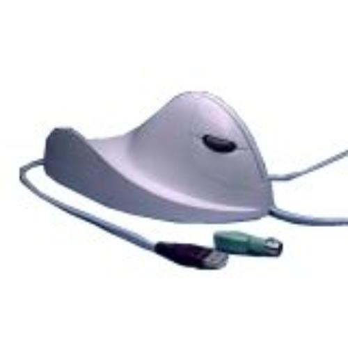ACP Ergonomic Quill Mouse Pc and Mac Left Hand White (0270-0030)