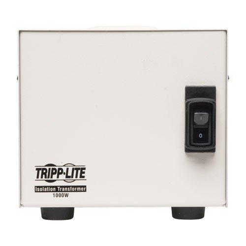 Tripp Lite 1000W Isolation Transformer Hopsital Medical with Surge 120V 4 Outlet 10ft Cord HG TAA GSA (IS1000HG)