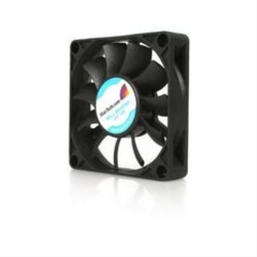 StarTech.com Replacement 70mm Ball Bearing CPU Case Fan - TX3 Connector - Case fan - 70 mm - black (FAN7X15TX3)